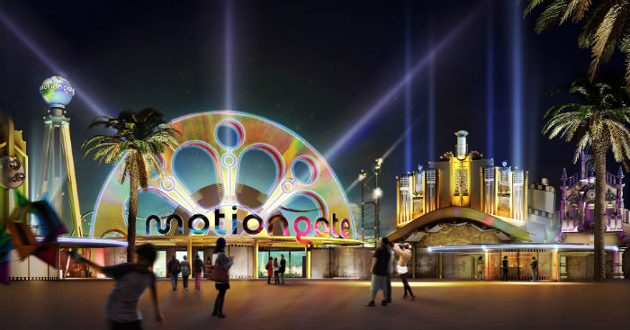 Pictures: Dubai's Mega Theme Park Project Starts Taking Shape