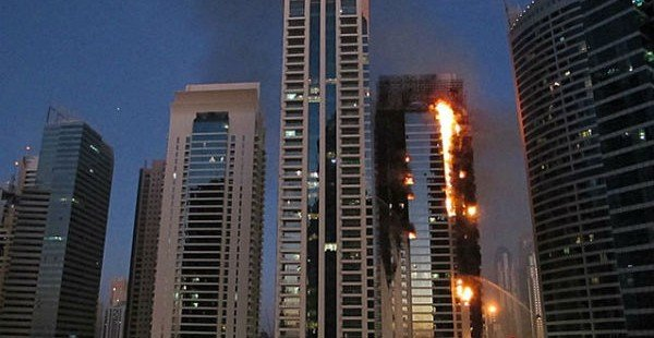 Cigarette Caused Tamweel Tower Dubai Fire