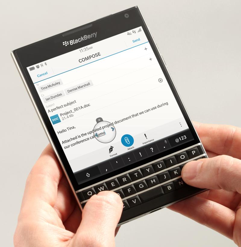 BlackBerry Set To Launch New Smartphone, Passport