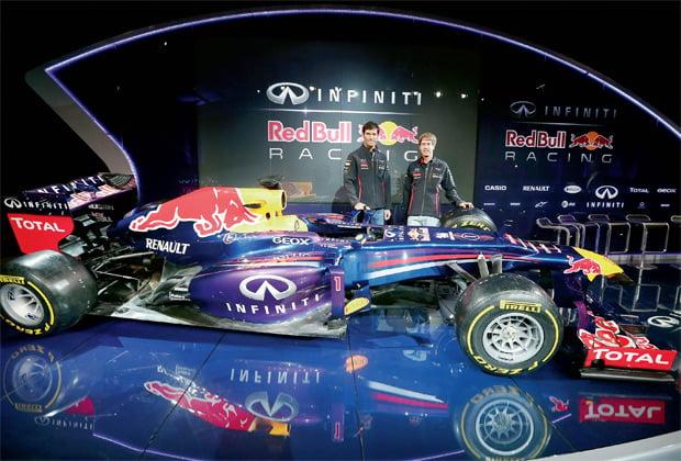 Infiniti Red Bull Racing Unveil RB9