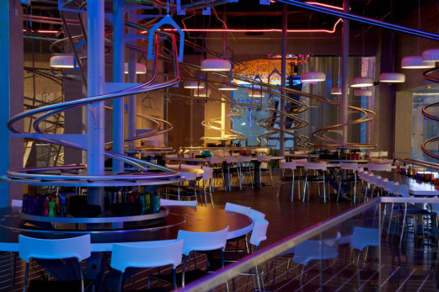 World's Largest Roller Coaster Restaurant Opens In Abu Dhabi