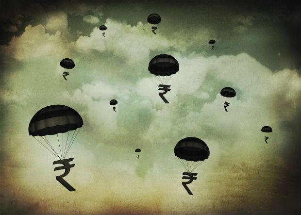 Tale Of The Tumbling Rupee