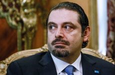 Lebanon's Hariri leaves Saudi Arabia for UAE trip