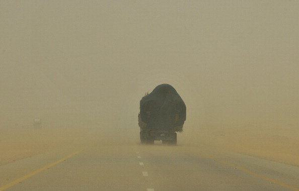 UAE warns of poor visibility due to dust during the weekend