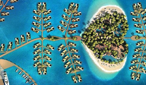 New heart-shaped island resort in Dubai aims to woo honeymooners