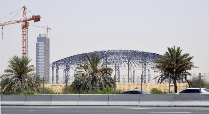 Construction Begins On Dubai's Mega Theme Park