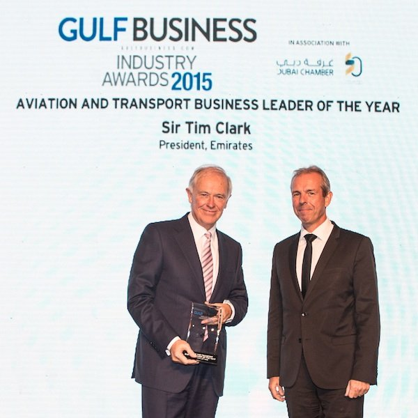 Gulf Business Industry Awards 2015: Business Leaders of the Year