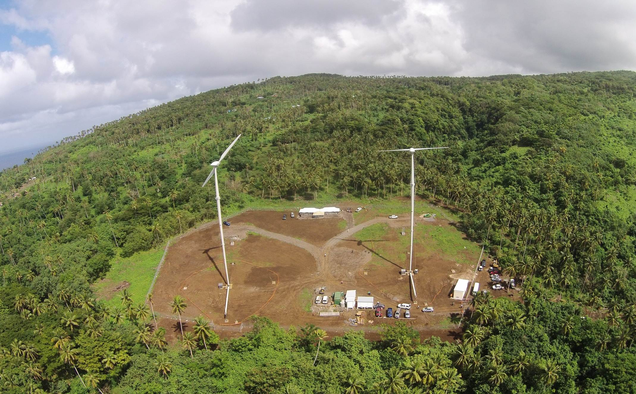UAE's Masdar Delivers Samoa's First Wind Farm
